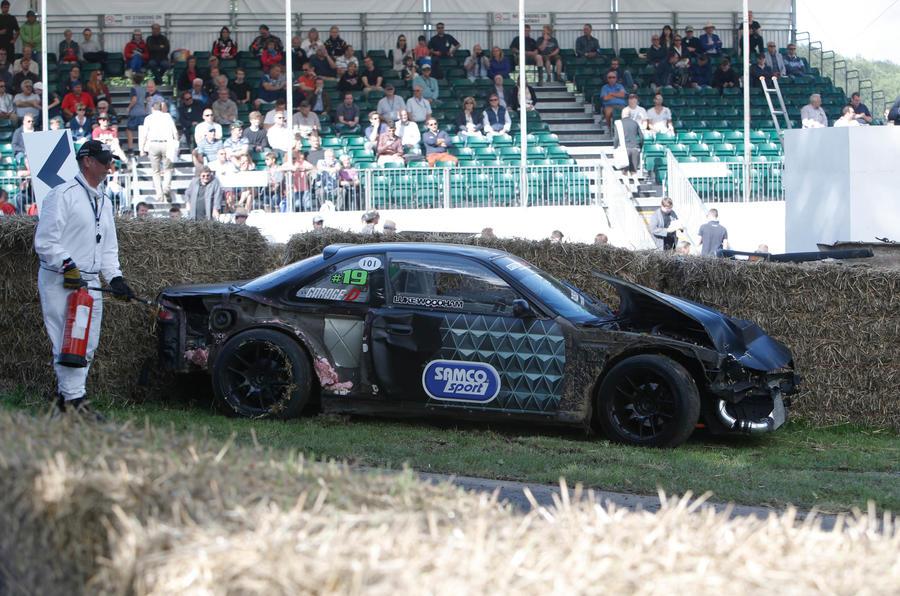 2016 Goodwood Festival of Speed crash