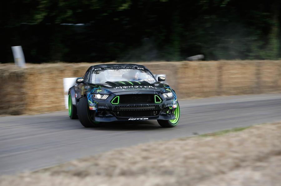2016 Goodwood Festival of Speed drift car