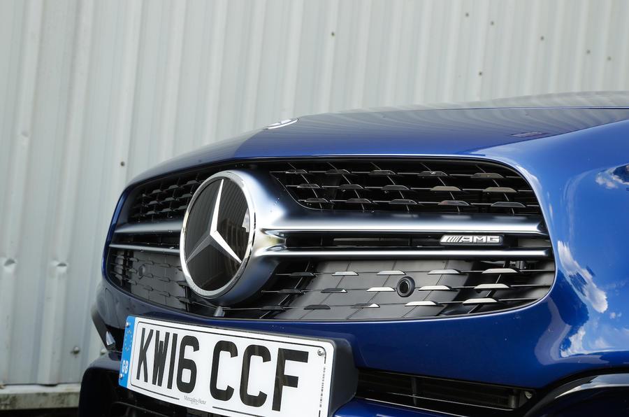 Mercedes-AMG SL 63 front grille