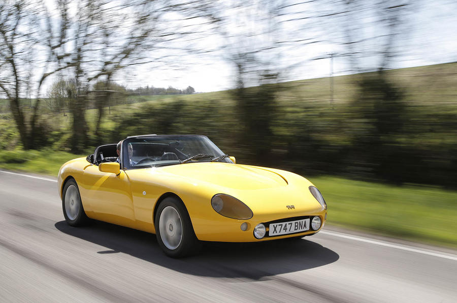tvr griffith revisiting an all time classic british sports car autocar. Black Bedroom Furniture Sets. Home Design Ideas