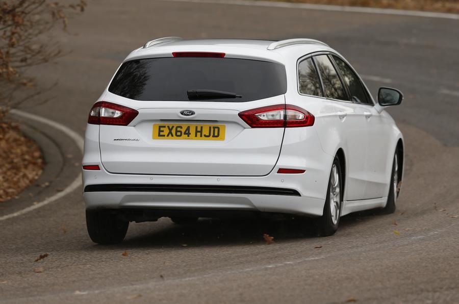 Ford Mondeo Estate rear cornering