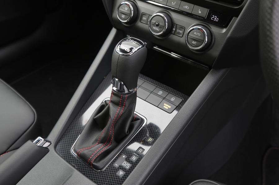 Skoda Octavia vRS 4x4 DSG gearbox
