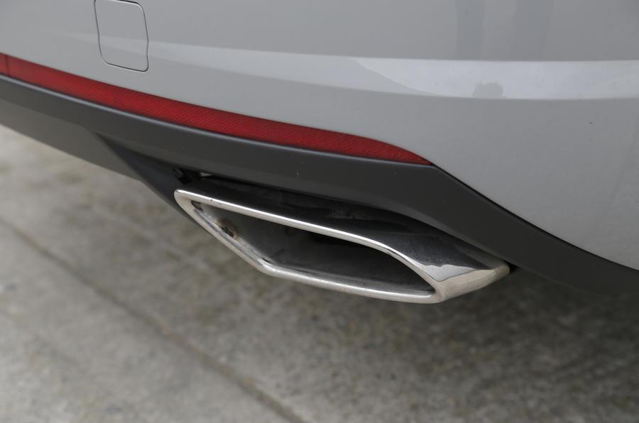 Skoda Octavia vRS chrome exhaust