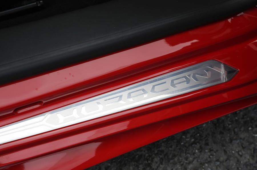 Lamborghini Huracan LP580-2  kickplates