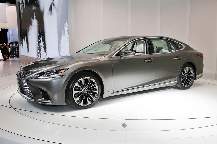 Lexus Ls Flagship Luxury Saloon Unveiled At Detroit Motor