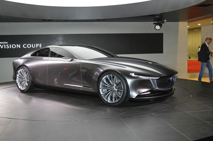 Mazda Vision Coupe previews Aston Martin-rivalling grand tourer