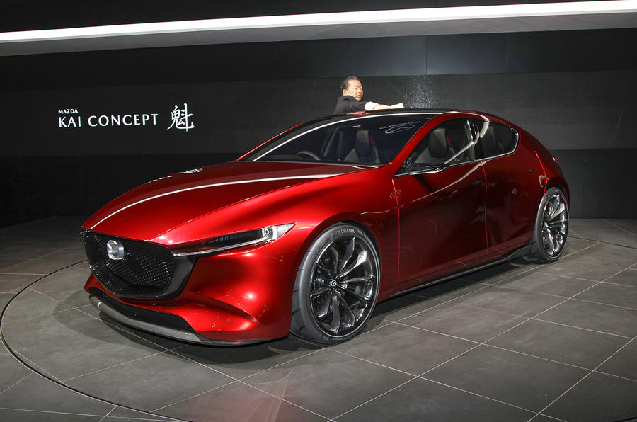 new mazda 3 confirmed for la motor show debut autocar. Black Bedroom Furniture Sets. Home Design Ideas