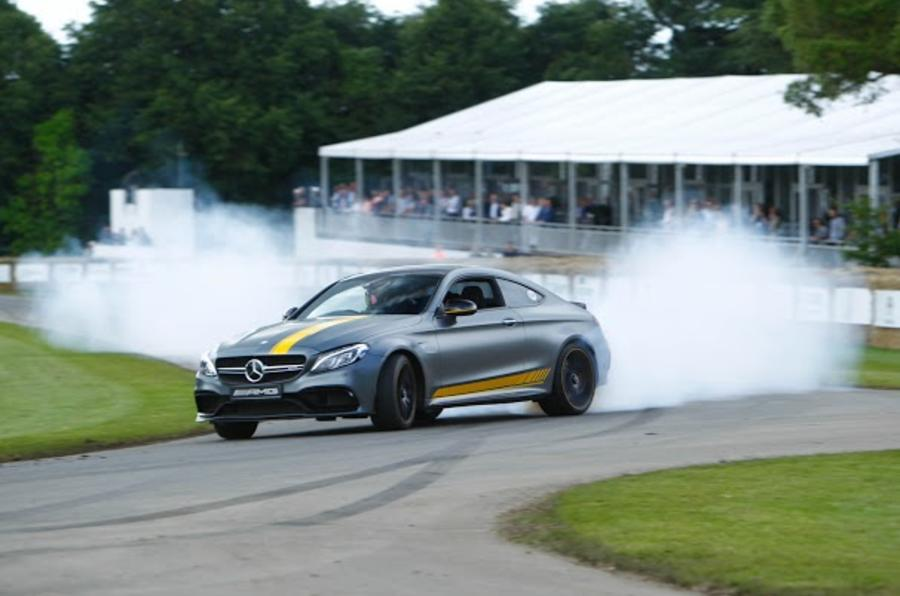Mercedes AMG 2016 Goodwood Festival of Speed