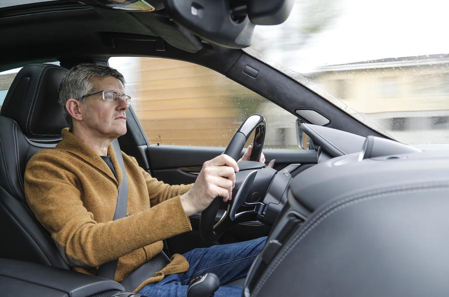 Driving the Maserati Levante