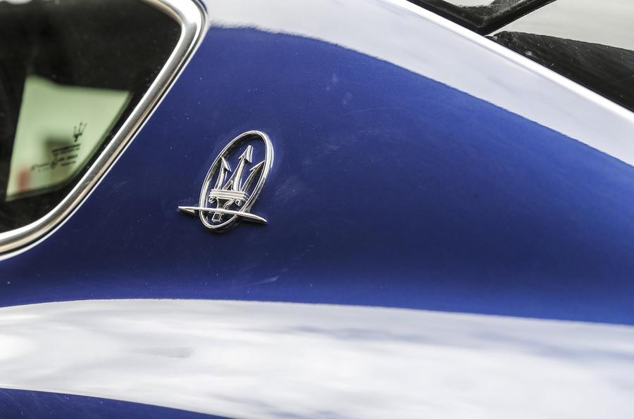 Maserati Levante badging
