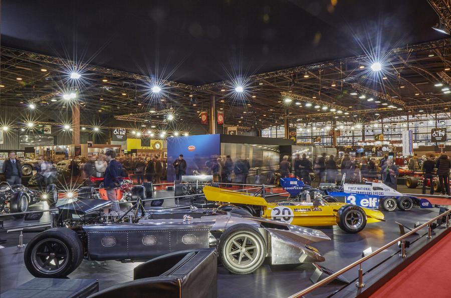 Old Formula 1 cars