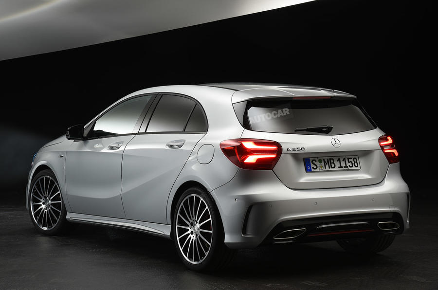 2015 Mercedes-Benz A-Class - pictures, details and on-sale ...