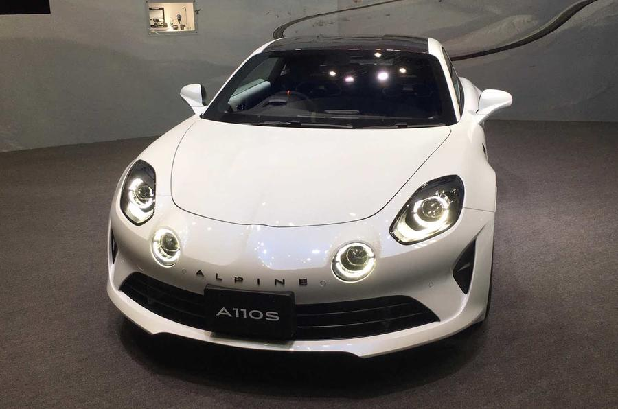 Alpine A110S at Tokyo motor show