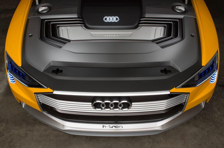 Audi h-tron concept - motor