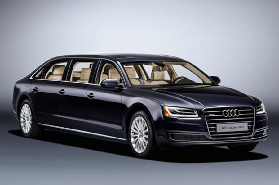 extended audi a8 l revealed autocar. Black Bedroom Furniture Sets. Home Design Ideas