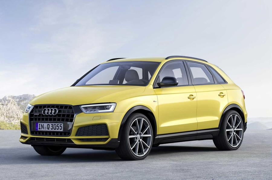 audi q3 black edition joins updated 2017 range autocar. Black Bedroom Furniture Sets. Home Design Ideas