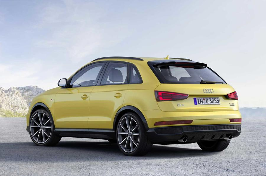 Audi Q3 Black Edition joins updated 2017 range