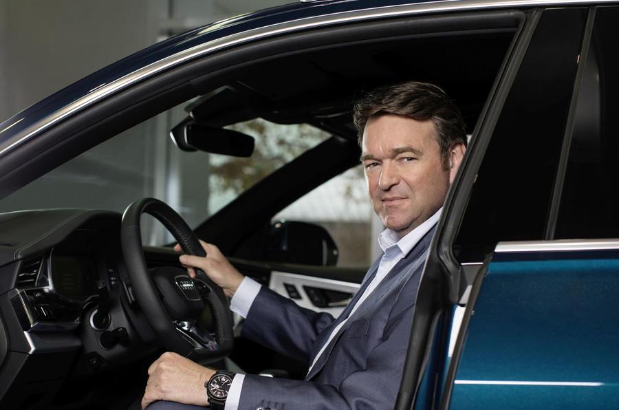 Audi CEO Bram Schott press shot