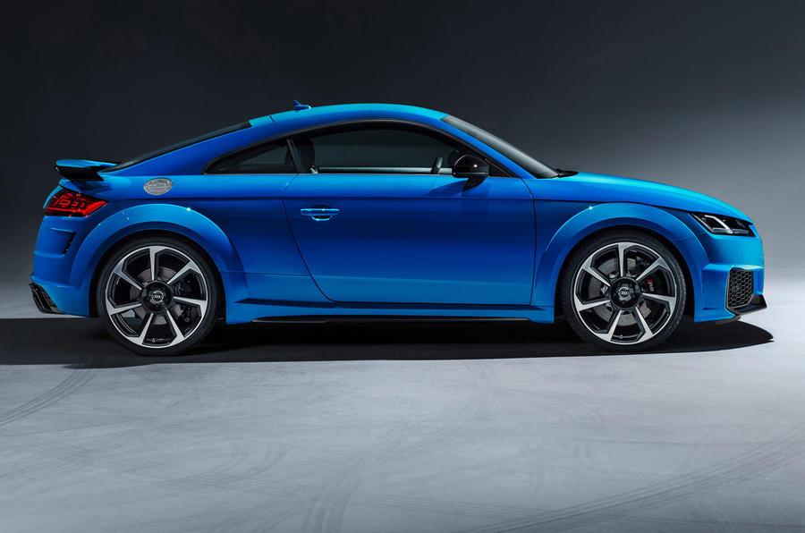 Audi TT press shot side