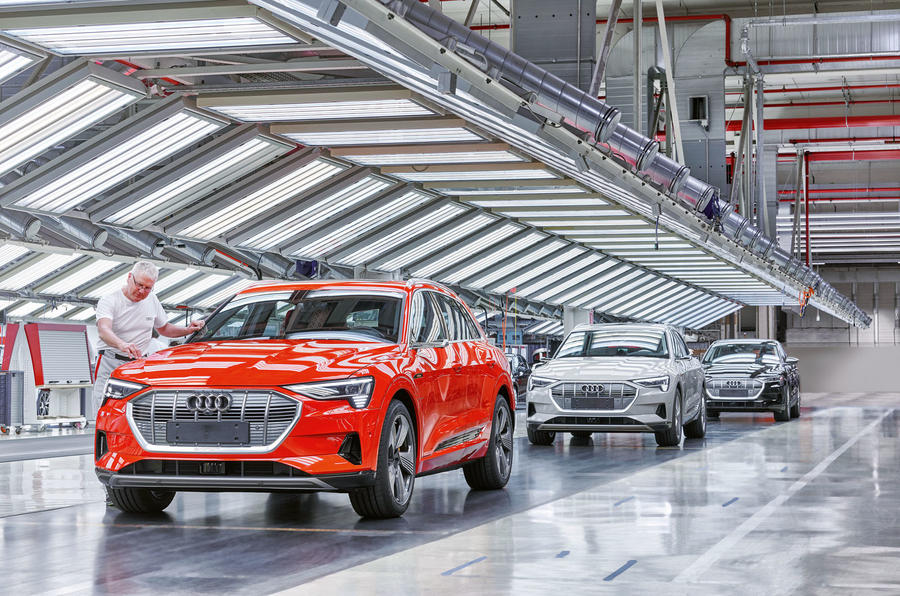 Audi e-Tron production - Belgium