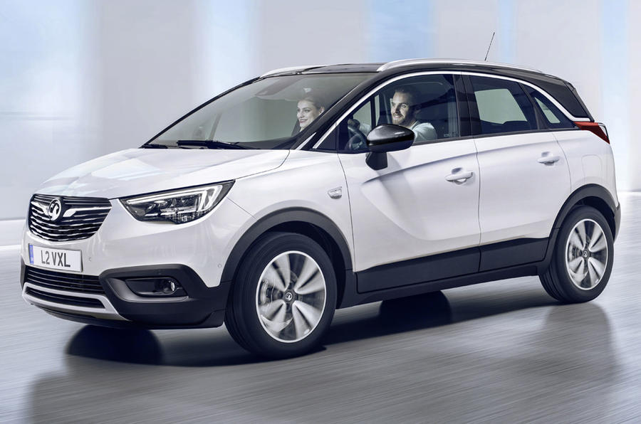 Vauxhall launches Crossland X compact SUV