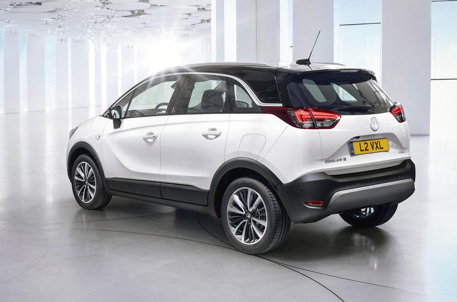 Vauxhall Crossland X fully revealed