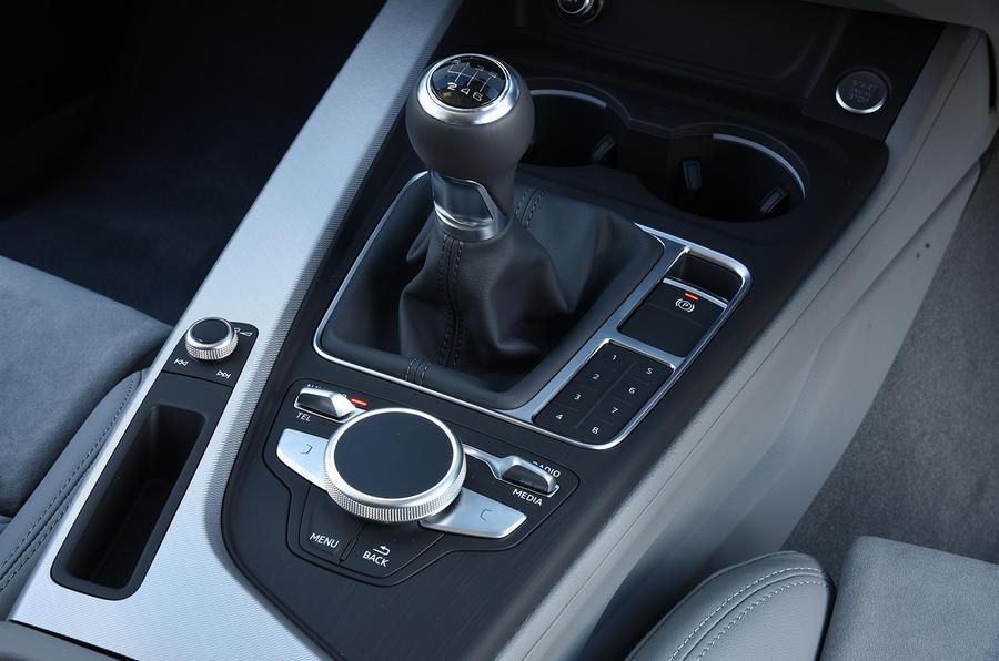 Audi A4 6-spd manual gearbox