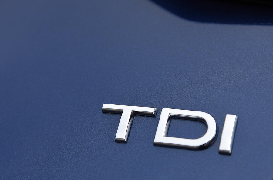 Audi A4 TDI badging