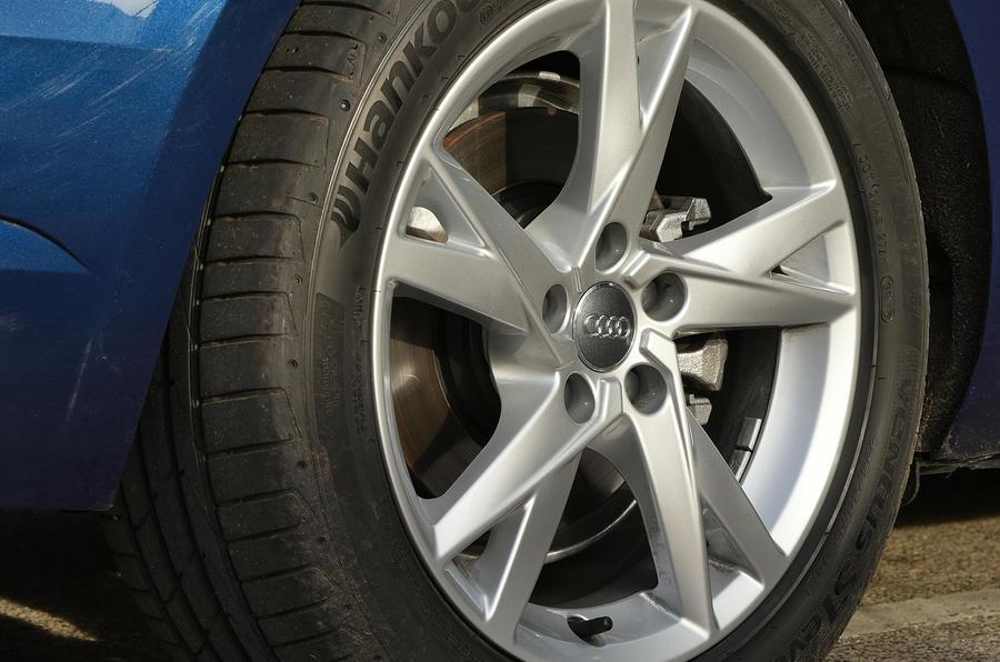 17in Audi A4 Avant alloys