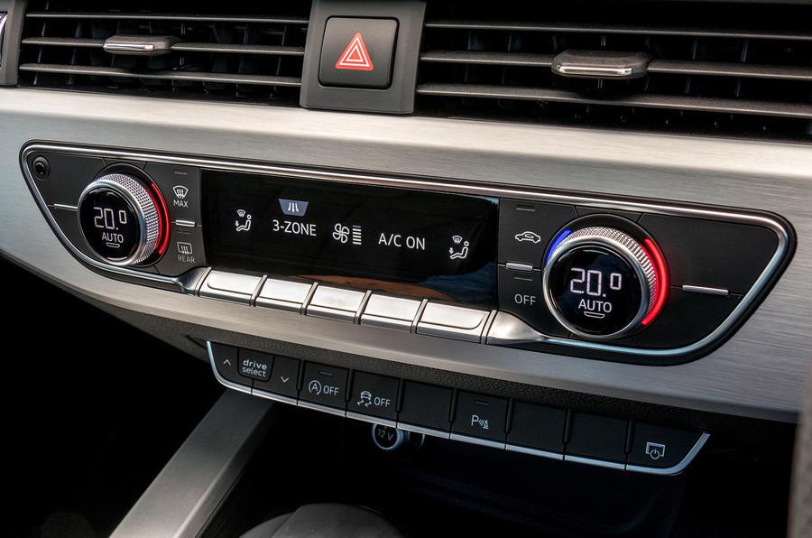 Audi A4 climate control