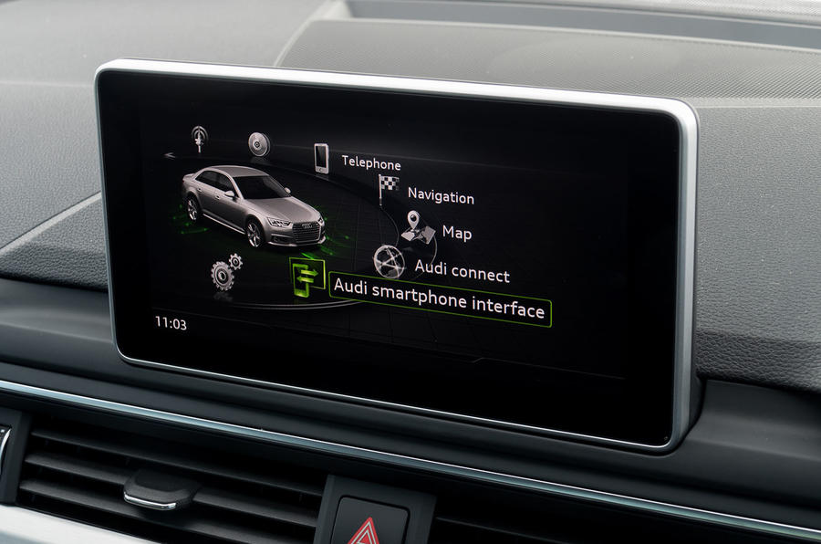 Audi A4 MMI infotainment