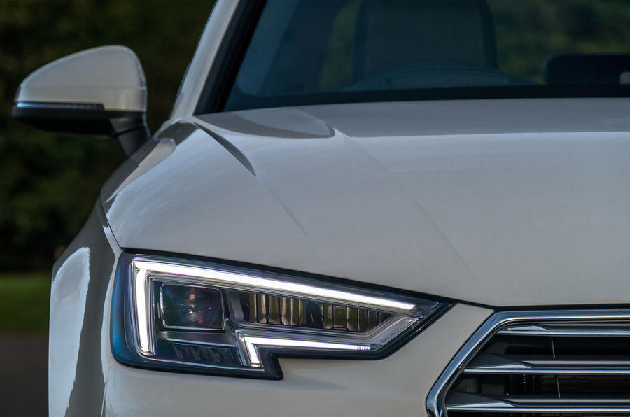 Audi A4 LED headlights