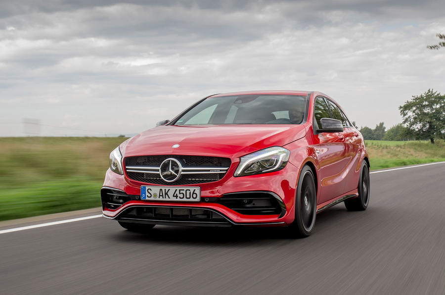2015 mercedes amg a 45 4matic review review autocar. Black Bedroom Furniture Sets. Home Design Ideas