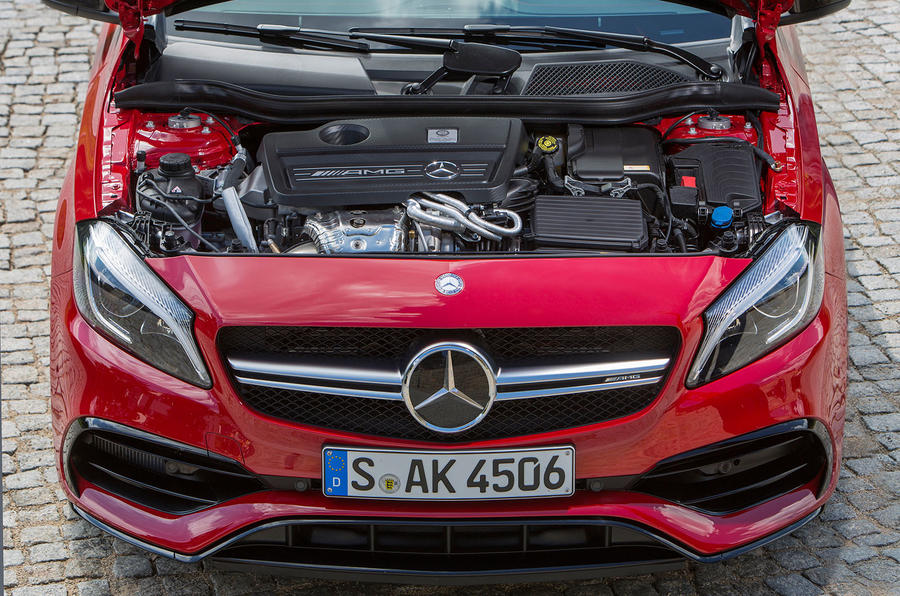 2.0-litre Mercedes-AMG A 45 engine