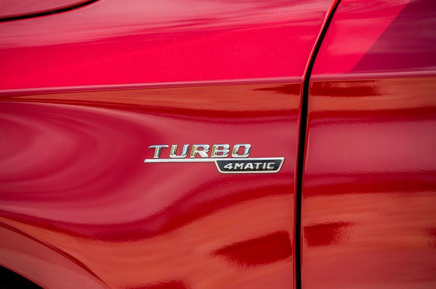 Mercedes-AMG Turbo 4Matic badging