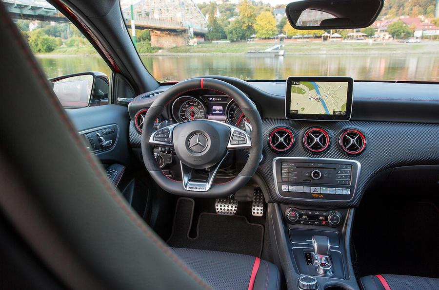 Mercedes-AMG A 45 interior