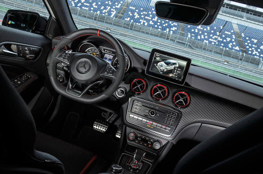 Mercedes-AMG A 45 dashboard