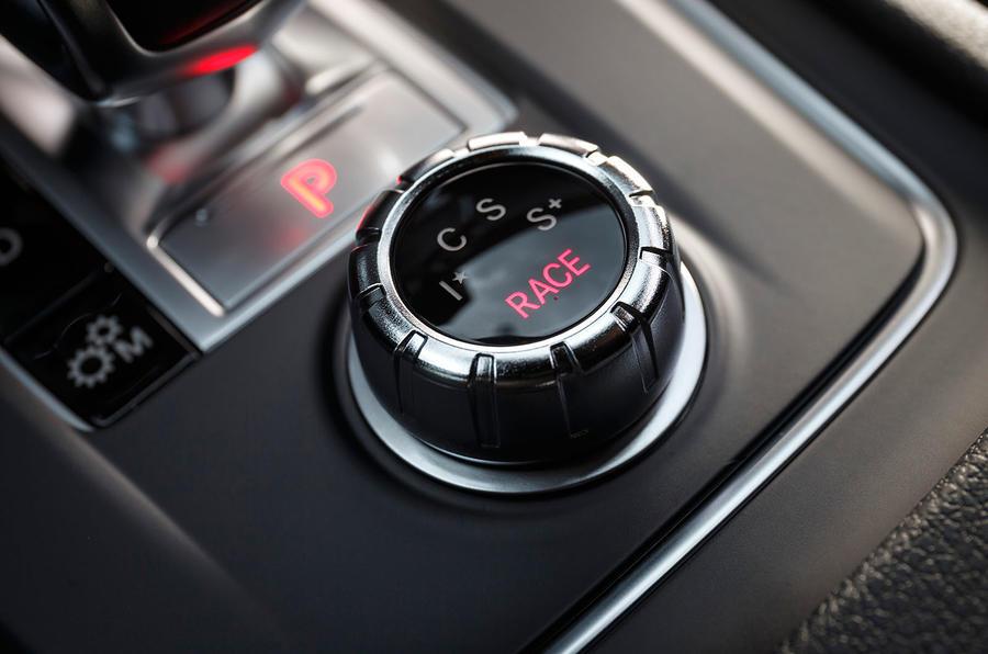 Mercedes-AMG A 45 dynamic control