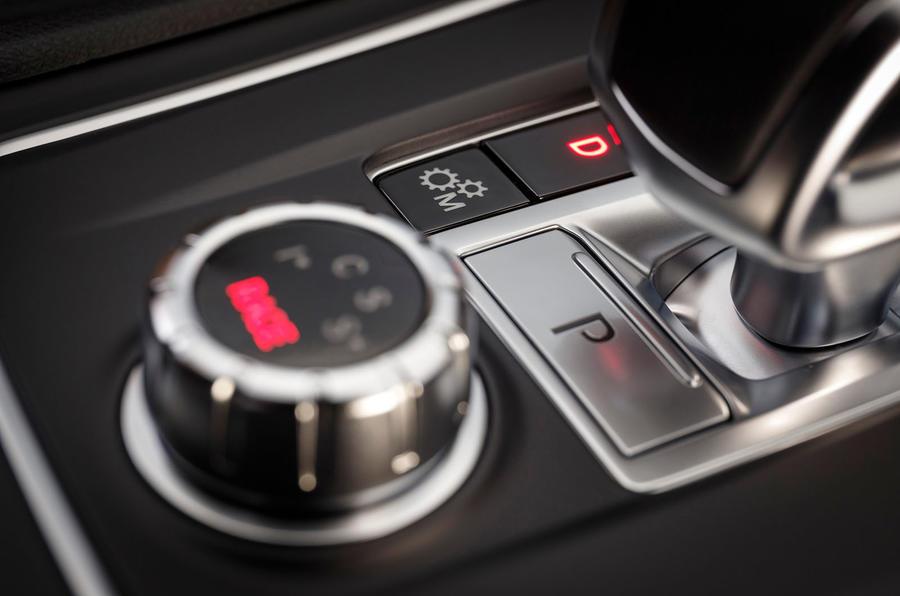 Mercedes-AMG A 45 parking brake