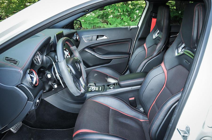 Mercedes-AMG A 45 Renntech interior