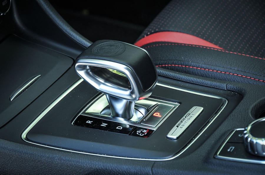 Mercedes-AMG A 45 automatic gearbox