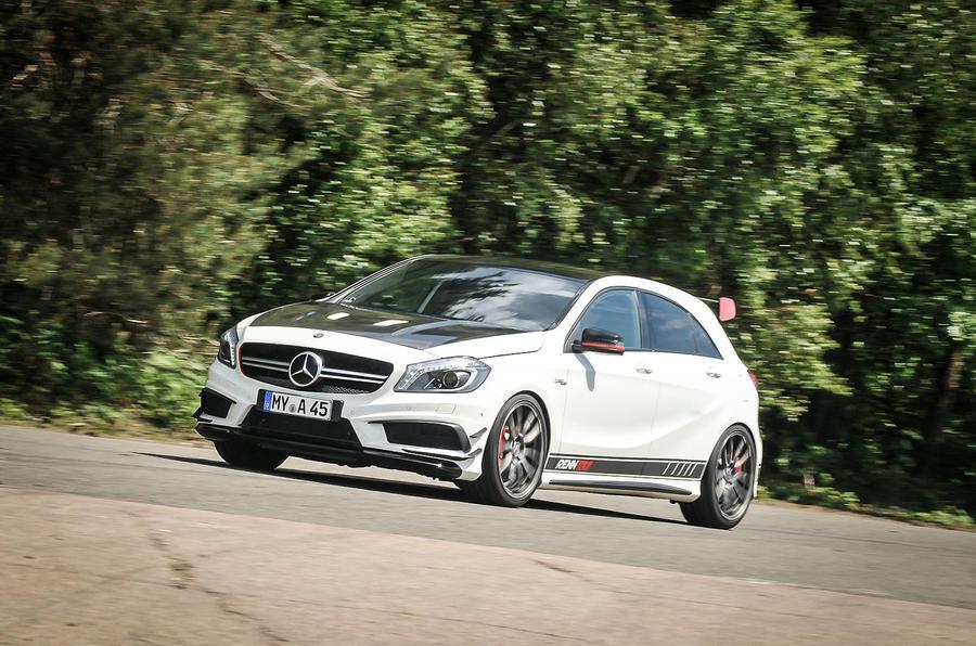 3.5 star Mercedes-AMG A 45 Renntech