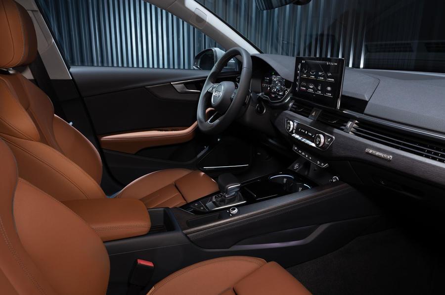2019 Audi A4 Avant press packet - interior
