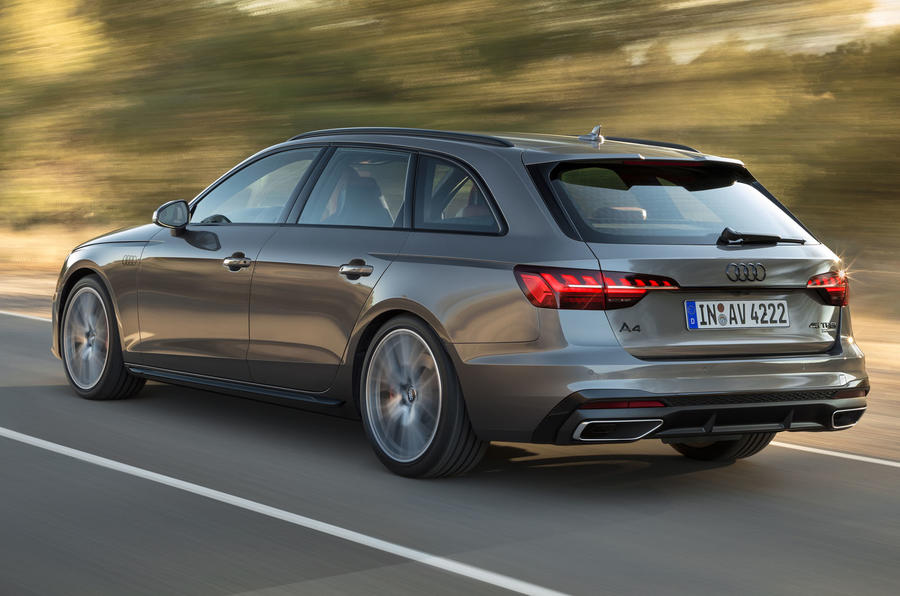 2019 Audi A4 Avant press packet - rear