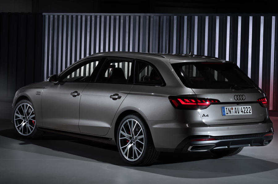 2019 Audi A4 Avant press packet - rear