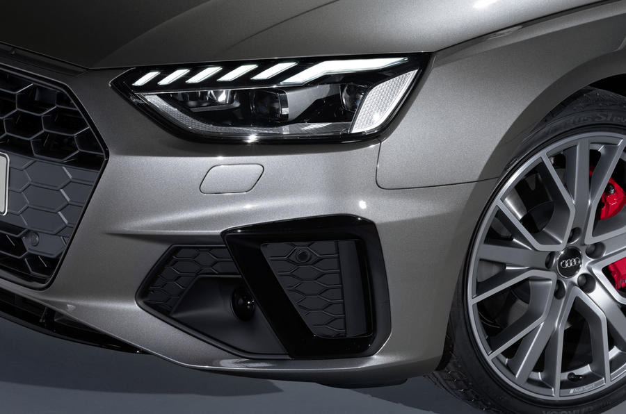 2019 Audi A4 Avant press packet - detail