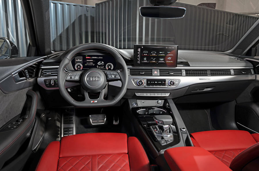 2019 Audi S4 press packet - interior