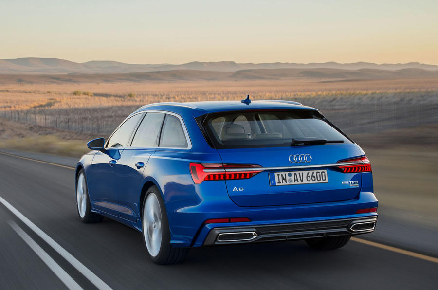 New Audi A6 Avant Breaks Cover