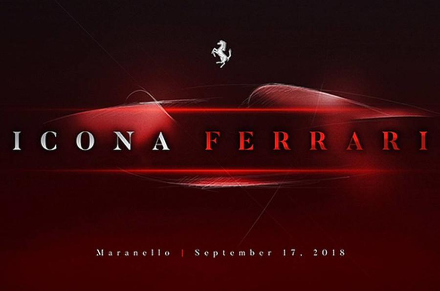 Ferrari Icona private teaser