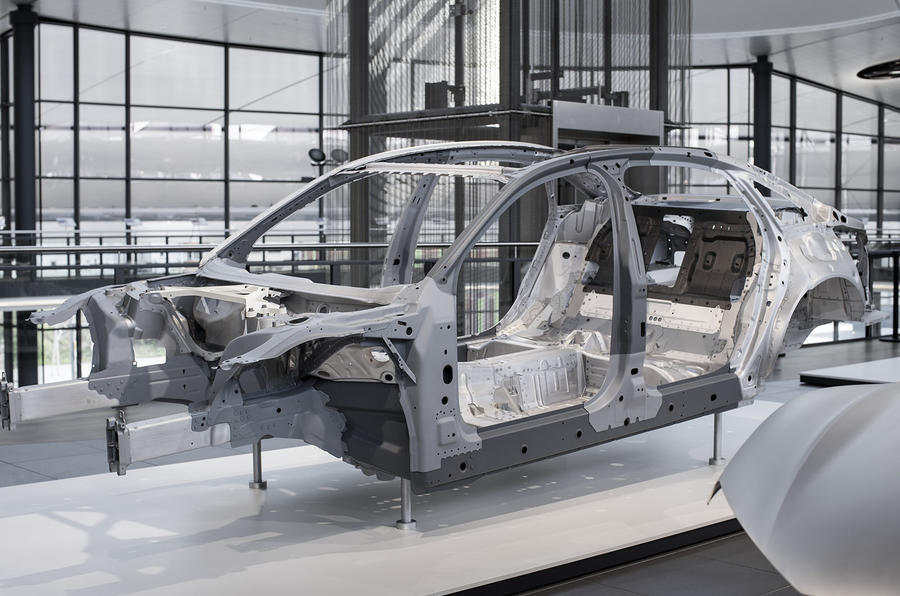 Audi A8 lightweight construction